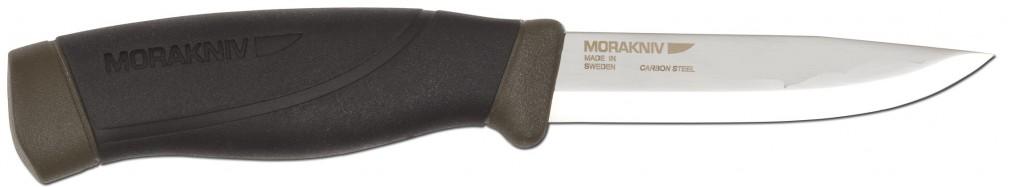 test et avis couteau de chasse mora moraknik companion mg carbon